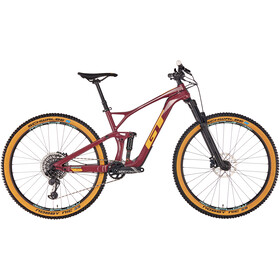 GT Bicycles Sensor Carbon Expert, wine red/gumwall/glacier mint
